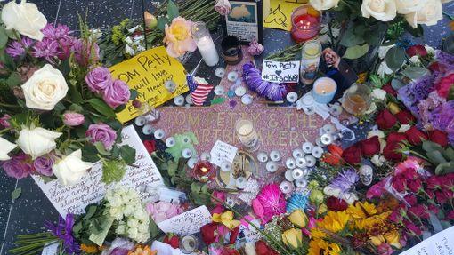 Kun tieto Pettyn kuolemasta tuli, ilmestyivät ensimmäiset kukat Pettyn tähdelle.