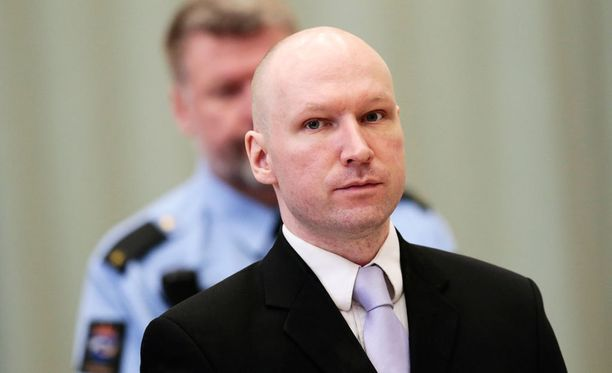Breivik Skienin vankilassa maaliskuussa 2016.
