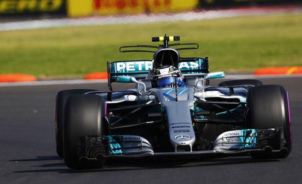 Valtteri Bottas teki Autódromo Hermanos Rodríguezille uuden rataennätyksen.
