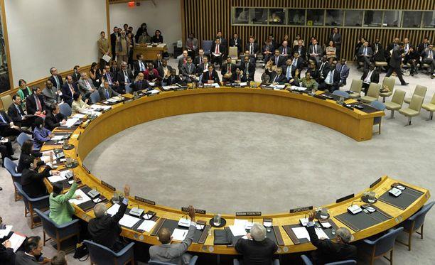 YK:n turvallisuusneuvoston päätöslauselmaesitys sulkee pois ainoastaan miehitysjoukot.