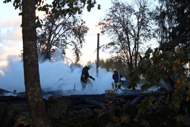 Poliisille ei ole tullut silminnäkijähavaintoja kirkon paloon liittyen eilisen jälkeen.