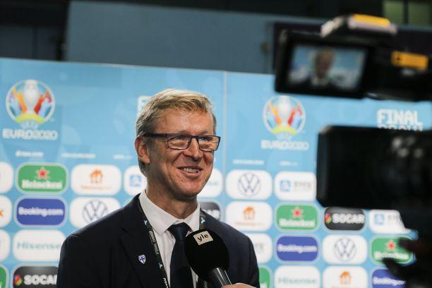 Markku Kanerva oli tyytyväinen Suomen EM-kisalohkoon.