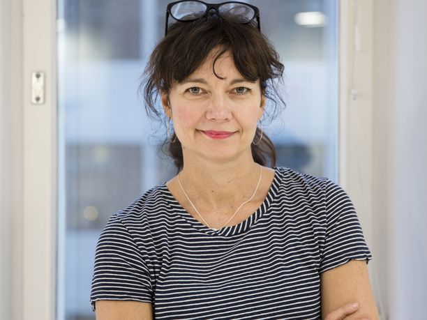 Kirsi Piha on mukana Helsingin pormestarikisassa.