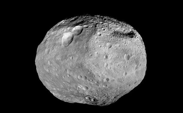 Asteroidi havaittiin vain vuorokausi ennen lähiohitusta. Kuvituskuva.