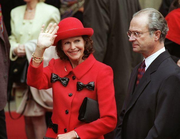 Kuningaspari Saksassa 1998.