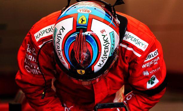 Kimi Räikkönen lähtee luottavaisena lauantain aika-ajoon.