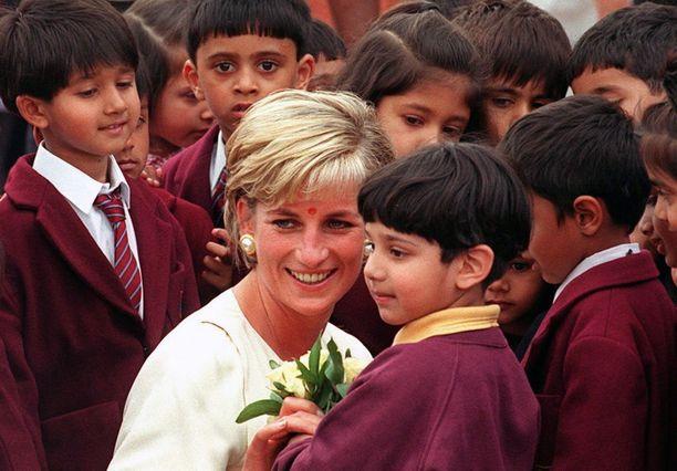 Prinsessa Dianan sitkeä työ humanitaarisen avun parissa inspiroi Marklea.