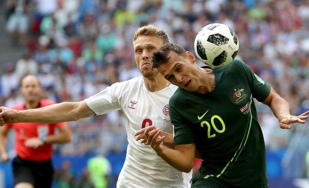 Tanska on tasapelin myötä tiukasti kiinni jatkopaikassa.
