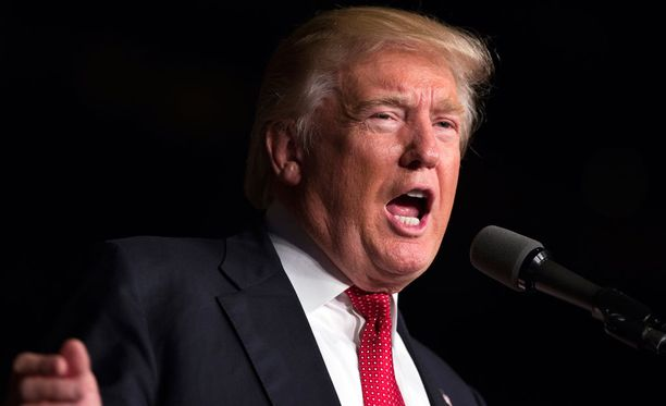 Republikaanien presidenttiehdokas Donald Trump.