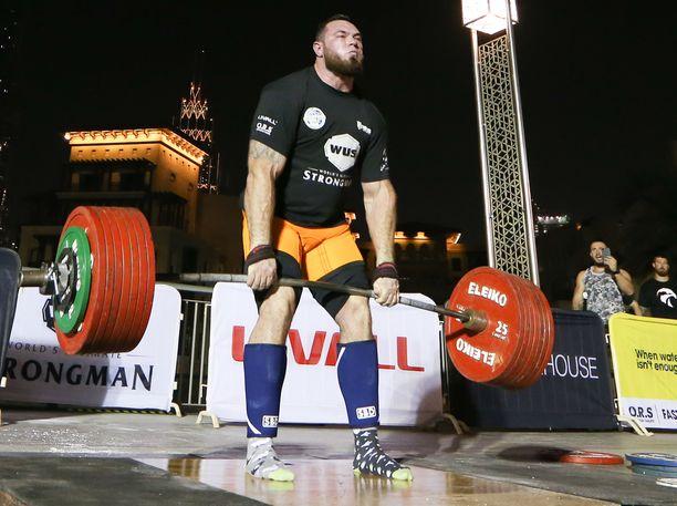 Novikov voitti marraskuussa 2020 Maailman vahvin mies -kilpailun Floridassa