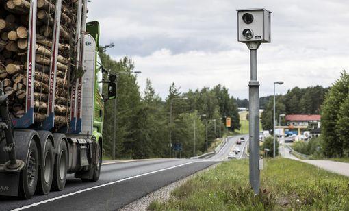 Kaikki käytössä olevat kamerat on viritetty peltipoliiseihin.