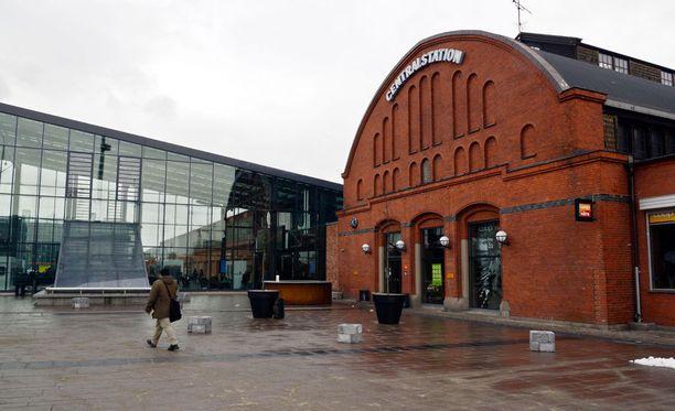 Välikohtaus tapahtui Malmön juna-asemalla helmikuussa.