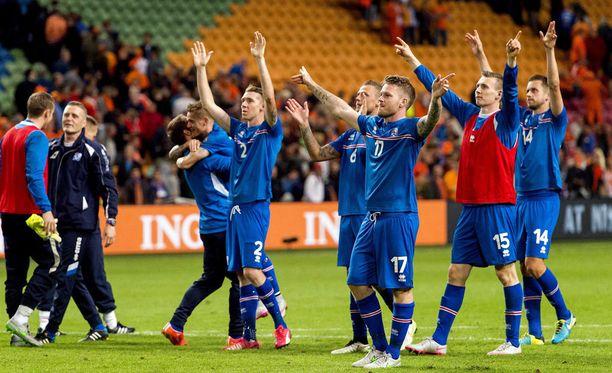 Islanti on erittäin lähellä paikkaa EM-kisoissa.