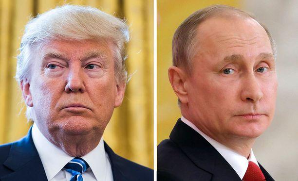 Trumpin ja Putinin yhteyksistä on spekuloitu jo pitkään.