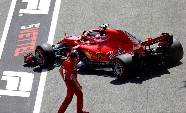 KImi Räikkönen povaa tasaista aika-ajoa.