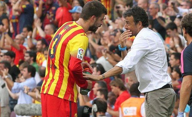 Gerard Piqué ei ole alkukaudella kuulunut Luis Enriquen luottpelaajiin.