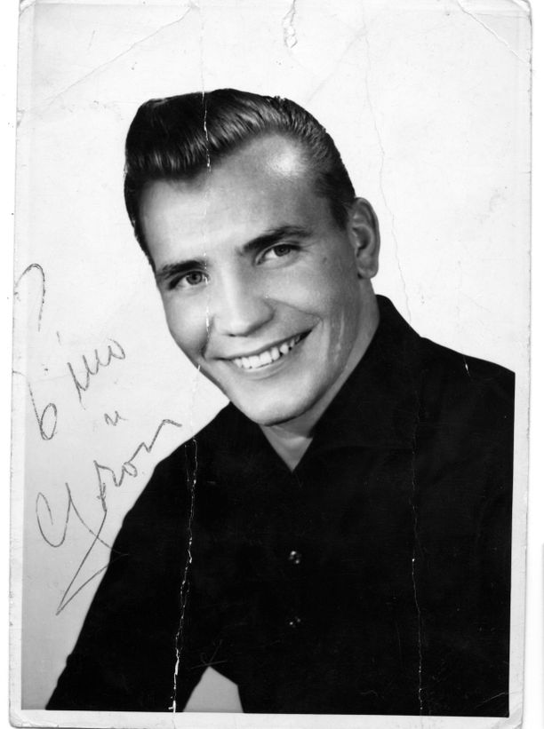 Eino Grön fanikuvassa uransa alkuaikoina vuonna 1960.