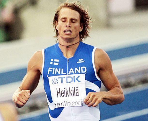 Jussi Heikkilän juoksu ei mennyt aivan nappiin.
