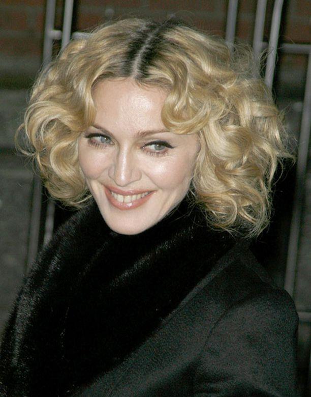 Näin hehkeältä Madonna näytti joulukuun 2. päivä.
