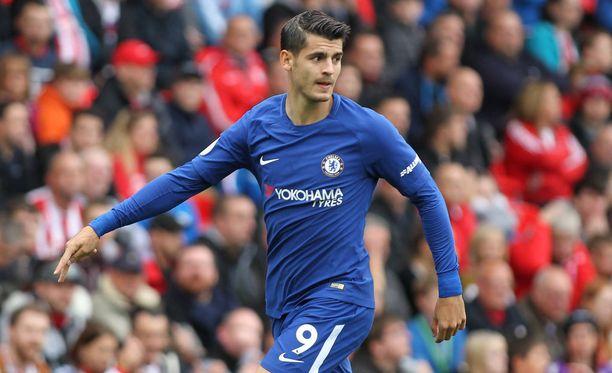 Álvaro Morata näytti, miksi Chelsea rikkoi siirtosummaennätyksensä hankkiessaan espanjalaisen riveihinsä.