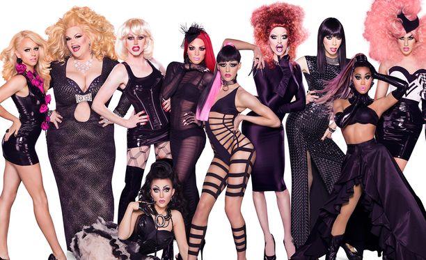 Amerikkalaisessa realitysarjassa etsitään drag-supertähteä. Palkintona on 100 000 dollaria.