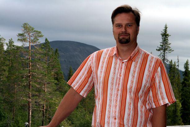 Pallas-Yllästunturin kansallispuiston johtaja Pekka Sulkava.