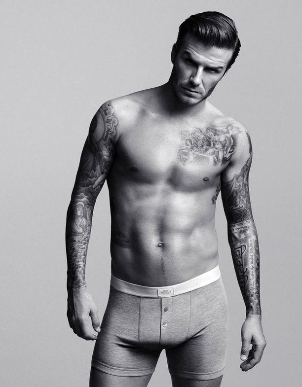 David Beckhamin iholla on todellista taidetta.
