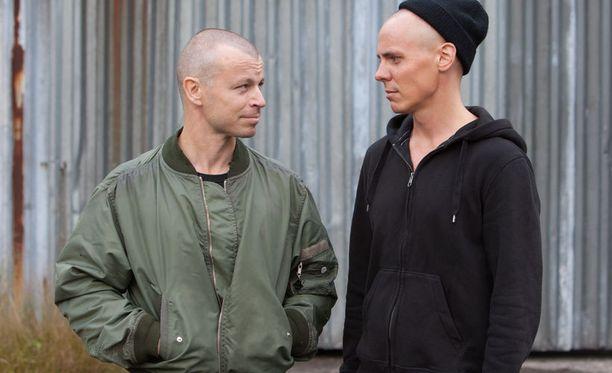 Peter Franzén ja Jasper Pääkkönen.