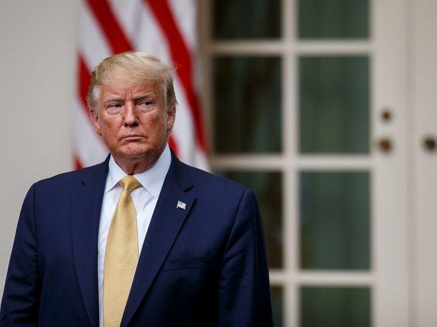 Donald Trumpia syytetään jälleen rasismista.