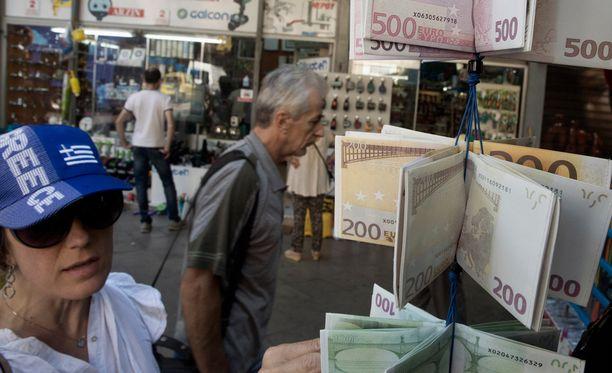 Kreikka on kärsinyt talouskriisistä.