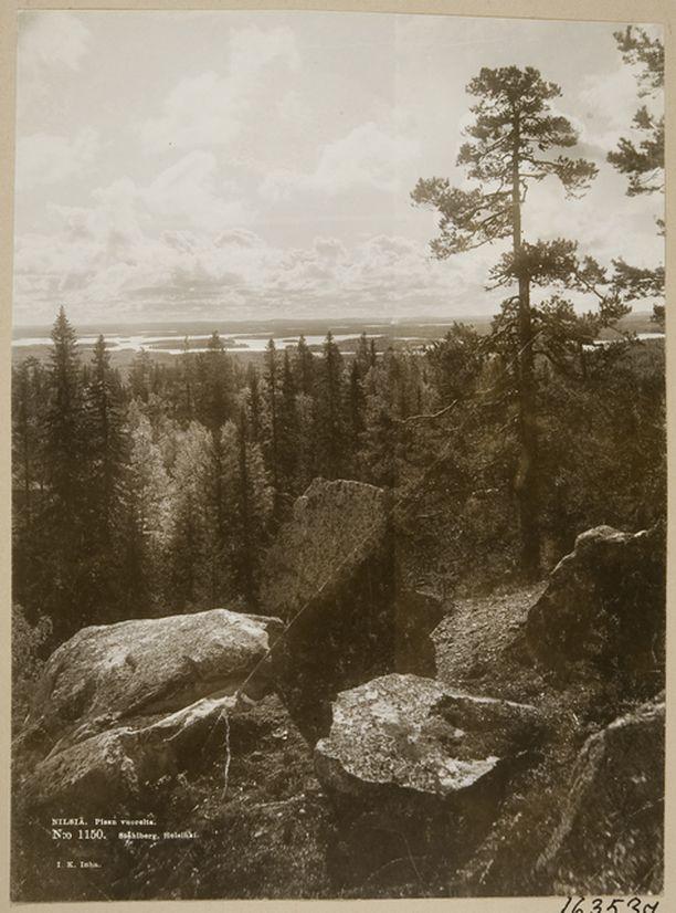 I.K. Inhan Pisalla ottama kuva kelpasi aikoinaan postikortiksi.