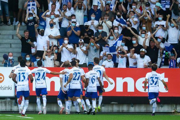 HJK taipui Mestarien liigan karsinnassa Malmölle, mutta taival jatkuu.