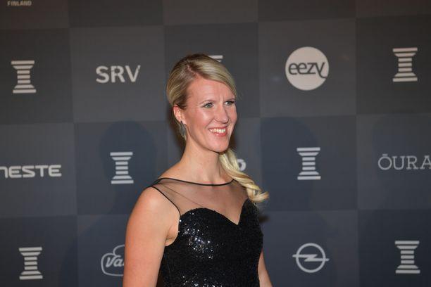 Sari Multala Urheilugaalassa tammikuussa.