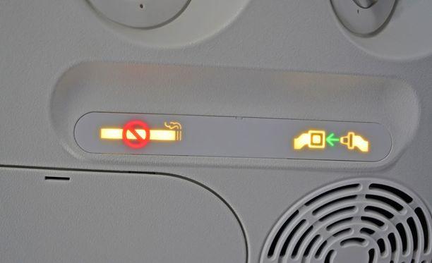 Nämä merkkivalot ovat tuttuja kaikille lentomatkustajille.