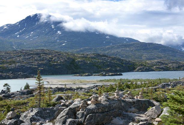Yukonin on Kanadan luoteisin territorio. Siellä asuu 35 000 ihmistä.