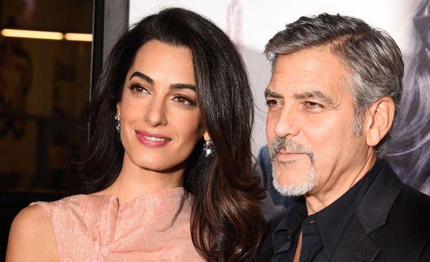George ja Amal Clooney avioituivat vuonna 2014.