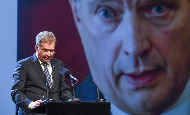 Presidentti Sauli Niinistö avasi Wisdom Wanted -seminaarin Helsingissä maanantaina.