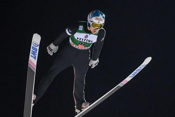 Antti Aalto onnistui Venäjän maailmancupkilpailuissa.