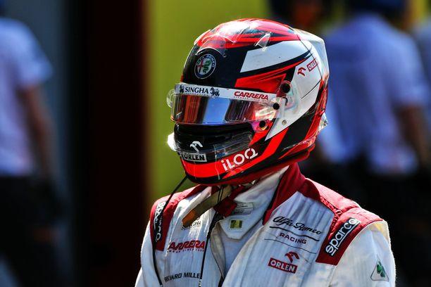 40-vuotias Kimi Räikkönen on sarjan kokenein kuljettaja.
