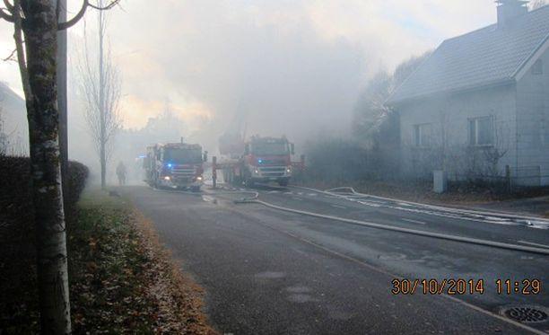 Tulipalo sytytettiin Kalevankadulla torstaiaamuna.