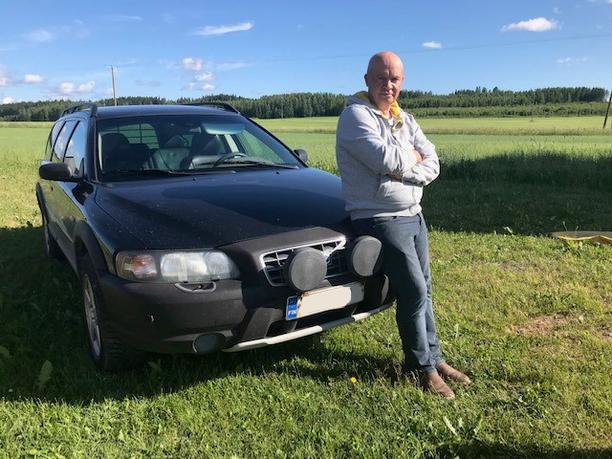 Tavoite on kaksi miljoonaa kilometriä, sanoo ylpeä Volvon omistaja Markku Saali.