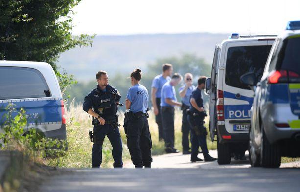 Poliisit löysivät Susannan ruumiin keskiviikkona.