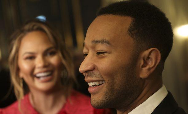 John Legend jäi vaimonsa varjoon.