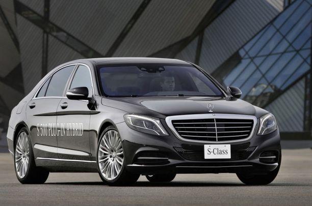 Ässä on Ässä tässäkin. Mercedes S-sarjan ladattava hybridi.