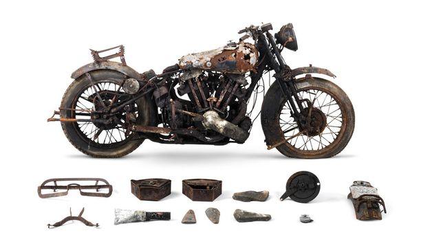 1938 Brough Superior 982cc SS100 Project, 83 000 - 110 000 euroa