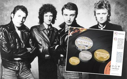 Queen-yhtye tekee historiaa - sai oman rahan: brittikolikossa kuningatar ja Queen
