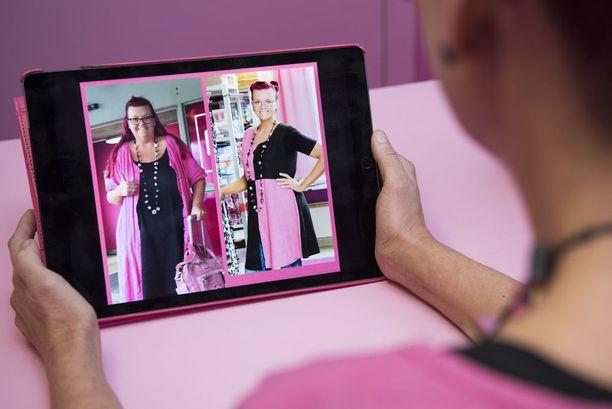 iPadille ladatut ennen ja jälkeen -kuvaparit paljastavat muutoksen mittakaavan.