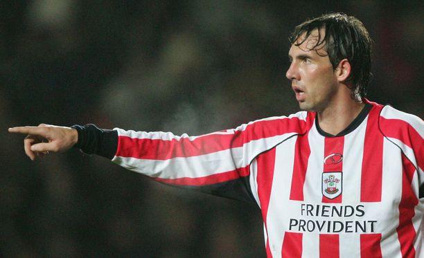 Claus Lundekvam pelasi upean uran Southamptonissa.