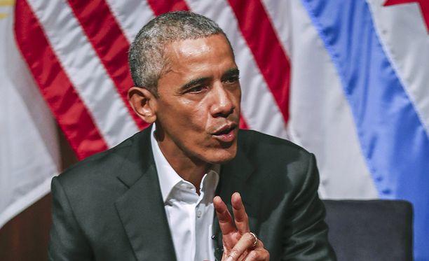Obama on tähän saakka pitänyt matalaa profiilia virkakautensa päättymisen jälkeen.