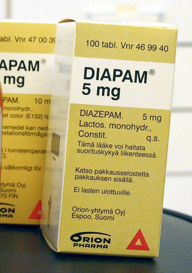 RIKOS. Naisen hallusta löytyi muun muassa työpaikalta varastettua diapamia. Kuvan pillerit eivät liity tapaukseen.